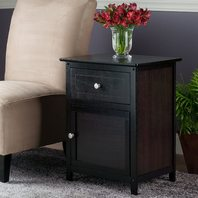 Winsome Wood Eugene Nightstand, Multiple Finishes