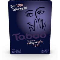 Taboo Game, Board Games- squeaker