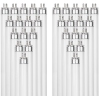 Sunlite 54-Watt T5 Linear Fluorescent Lamp Mini Bi Pin Base, Red, 40-Pack