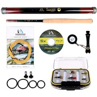 12ft Maximumcatch Maxcatch Tenkara Fishing Rod Combo Complete Kit
