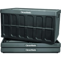 Clevermade Clevercrates 62 Liter Collapsible Storage Bin/Container