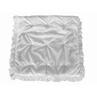 Baby Doll Layered Crib Comforter, White