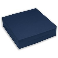 Hermell Products Wc4440nv Wheelchair Cushion, 16 By 18 By 4-Inch, Navy