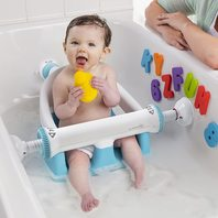 Summer Infant My Bath Seat, White/Teal, One Size