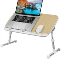 HUANUO Adjustable Foldable Laptop Stand Burlywood HNLA2