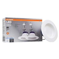 Sylvania General Lighting 74402 Rt5/Rt6 Sylvania 60w Equivalent White 2-Pack,
