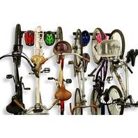 Koova Wall Mount Bike Storage Rack Garage Hanger For 6 Bicycles