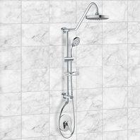 Pulse Showerspas 1011-Iii-Mb Kauai Iii Shower System, 2.5 Gpm, Chrome Finish