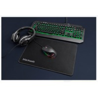 Gaming Blackweb Starter Kit With Keyboard, Mouse, Mousepad And Headset