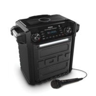 Ion Audio Pathfinder Charger All Weather Portable Speaker - Black