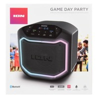 ION Game Day Party  Wireless Rechargeable Speaker System with Lights