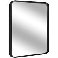 "Leoriso 32"" X 20"" Wall Mirror, Large Bathroom Mirror, 1.2"" Black Metal Frame"