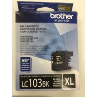 Brother Printer Lc103bk High Yield Ink Cartridge, Black