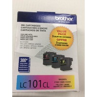 Brother - LC1013PKS Standard-Yield 3-Pack - Cyan/Magenta/Yellow