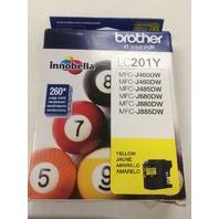 Brother LC201Y Innobella Ink - Yellow (BRTLC201Y)
