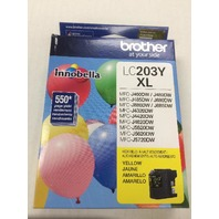 Brother LC203Y Innobella High-Yield Ink - Yellow