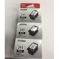 Genuine CANON PIXMA 245 Black Ink 3 pack