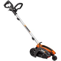 """Worx Wg896 12 Amp 7.5"""" Electric Lawn Edger & Trencher, 7.5in, Orange And Black"""