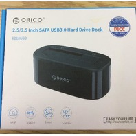 "Orico 2.5/3.5"" SATA  USB3.0 Hard drive doc"