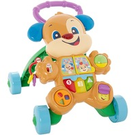 Fisher-Price Stand and Push Walker Smart Stages Puppy