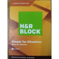 H&R Block Tax Software Basic 2019 - Can email Code