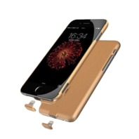 Charging Case Cover For Apple iPhone 6 Gold