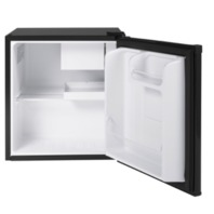 Haier 1.7 Cu Ft Single Door Compact Refrigerator QHE02GGMBB, Black