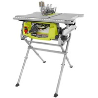 RYOBI 15 Amp 10 in. Table Saw with Folding Stand RTS12