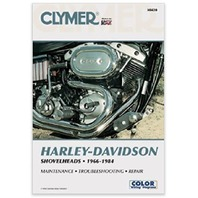 Clymer Harley-Davidson Shovelheads 66-84: Service, Repair, Maintenance - 9th Edition by Ron Wright (Paperback)