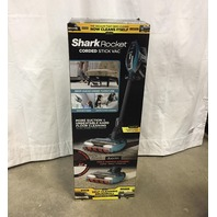 Shark Rocket Duoclean With Self-Cleaning Brushroll Corded Stick Vacuum Blue
