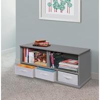 Decorative Storage Drawers Badger Basket, Grey