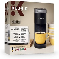 Keurig 50-37359 K-Mini Single Serve Coffee Maker, Matte Black