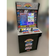 Street Fighter Arcade1Up modded to over 2000 games
