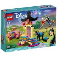 LEGO Disney Mulan's Training Grounds Princess Building Playset 43182