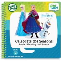LeapFrog LeapStart Frozen Celebrate the Seasons Activity Book