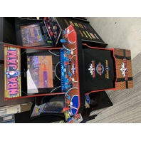 Arcade1UP NBA Jam Deluxe edition with Riser Light Up Marquee
