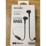 Sony - WI-XB400 Wireless In-Ear Headphones - Black