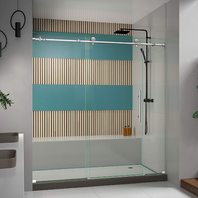 Dreamline Enigma-X 68-72 In. W X 76 In. H Frameless Sliding Shower Door