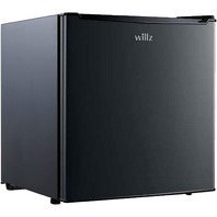 Willz Compact Refrigerator, 1.7 Cu.ft Single Door Fridge, Black