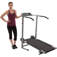 Exerpeutic 4010 100xl High Capacity Magnetic Resistance Manual Treadmill