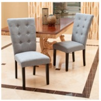 Elina Dining Chair, Set of 2, Grey