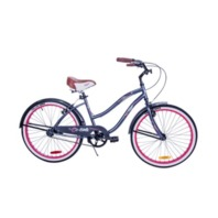 "Columbia 24"" Sterling Girls Cruiser Bike, Pink W/Steel Frame"