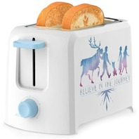 Disney Frozen 2 Slice Toaster White And Blue