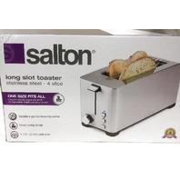 Salton Electronic Toaster - Silver