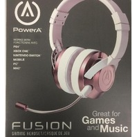 PowerA Fusion Wired Stereo Gaming Headset with Mic - Rose Gold