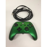 PowerA Enhanced Wired Controller for Xbox One & Windows 10 - Green Fade