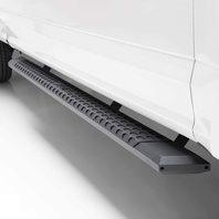 Aries Advantedge Black Aluminum 91-Inch Truck Running Boards, Select Ram 1500