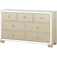 Acme Furniture Dresser, Yellow (READ)