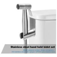 Stainless Steel Hand Held Bidet Sprayer for Toilet