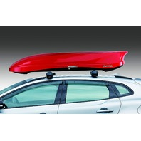 INNO BRM864RE Wedge Plus Cargo Box 13 Cubic Ft (Red)